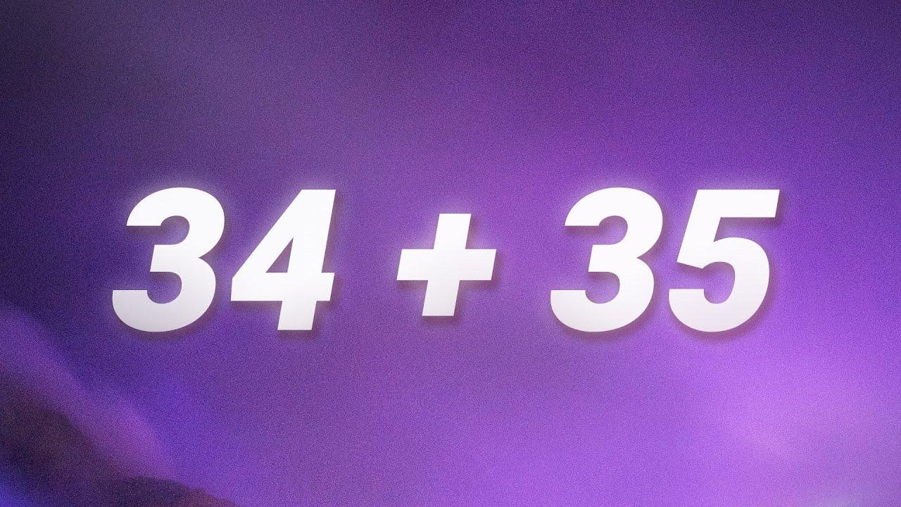 Ariana Grande - 34+35 (Lyrics)