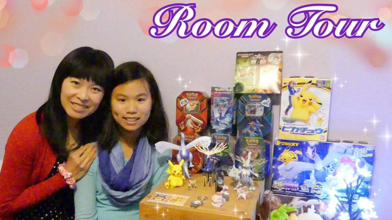 Room tour   dans la chambre de jadestar : cartes, figurines ...