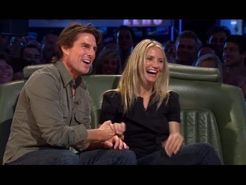 Tom Cruise and Cameron Diaz   Top Gear  BBC