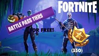HOW TO GET 35 FREE TIERS IN FORTNITE! (READ DESC)