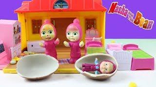 Sürpriz Yumurta İçerisinden Maşa Çıkıyor Maşa Saklambaç Oyunu Oynuyor Maşa Çizgi Film