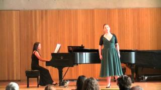 """Schumann: Frauenliebe und leben, No. 2 """"Er, der Herrlichste von allen"""""""