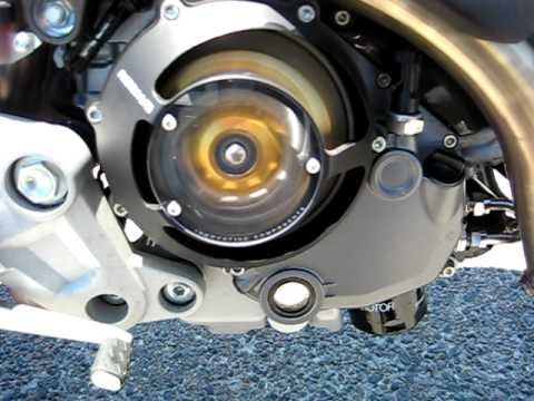 ducati monster 1100s w/rizoma clutch cover and pressure plate