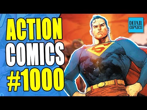 80 Years Of Superman History & A Bendis Filled Future (Action Comics #1000 Review)