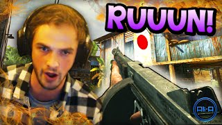"""RUUUUUUUN!"" - Call of Duty: WaW - (w/ Ali-A!)"