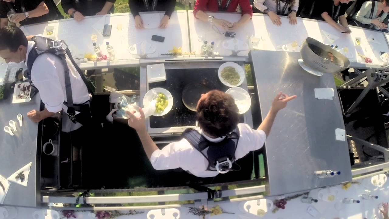 Dinner In The Sky London YouTube - Dinner in the sky an unforgettable experience