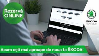 Rezervă online noua ta ŠKODA!