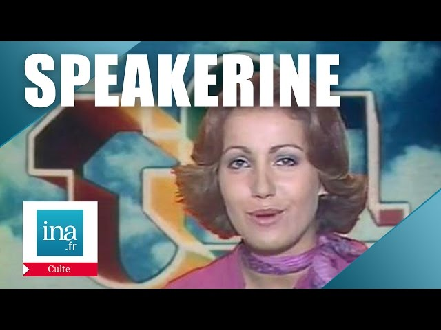 Speakerine 1976 Martine Boge | Archive INA