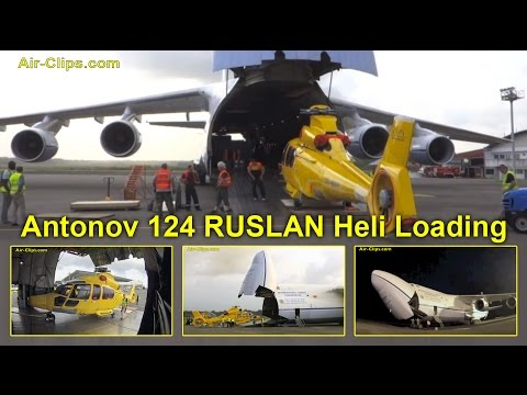Antonov 124 Flight ADB 178 Series Part 3: Loading the Beast with 3 EC155 helicopters by [AirClips]