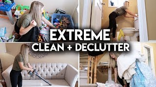 EXTREME CLEAN WITH ME 2019! **CLEANING MOTIVATION**