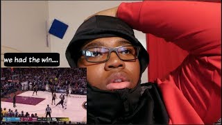 we had the win until kevin durant went off! NBA Finals Game 3 Live Reaction