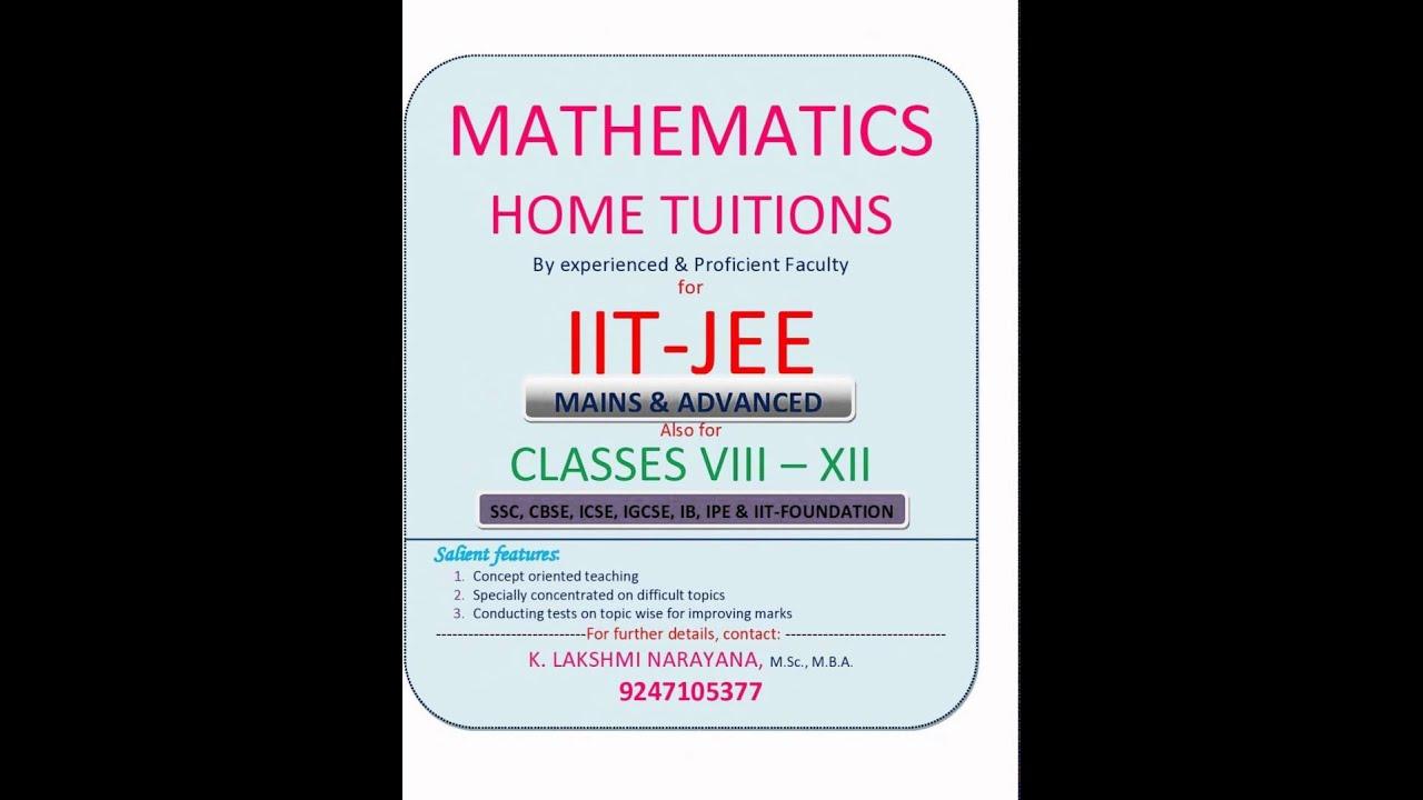 my slideshow iit maths tuitions youtube