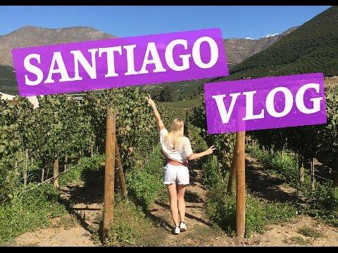 SANTIAGO VLOG ♡ Valparaiso, Vineyards & Tourist Sights