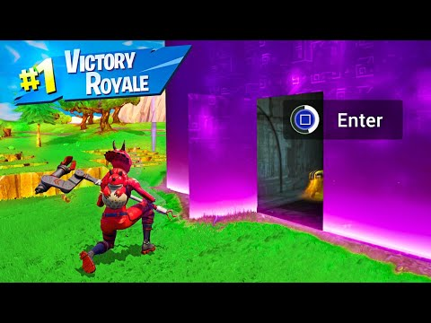 Cara Membuka CUBE Di Fortnite Battle Royale