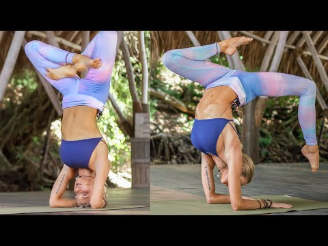 Learn To Headstand & Elbow Stand Easily | Beginner Level To Impressive Yoga Variations
