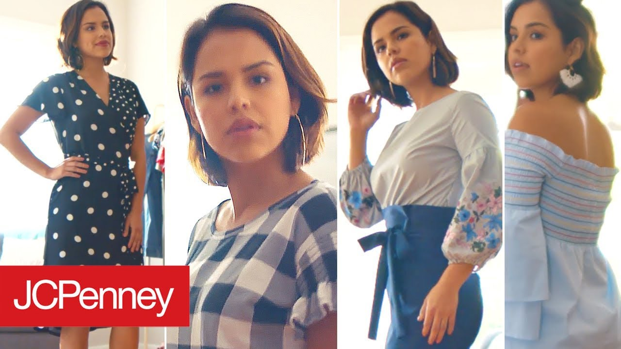 1ef0ad6d5dc8 Get Your Spring Outfits Ready with JCPenney - YouTube