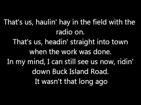 Luke Bryan We Rode In Trucks Lyrics