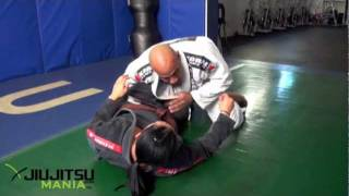 JiuJitsuMania Vanessa Mariscal Top Half Guard Attacks And Submissions
