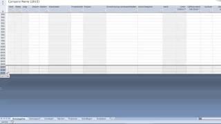 Hoe breid je de template urenregistratie in Excel uit?