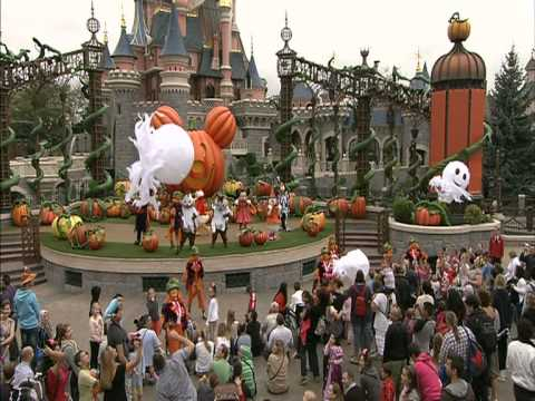 disneyland paris halloween 2012 youtube. Black Bedroom Furniture Sets. Home Design Ideas