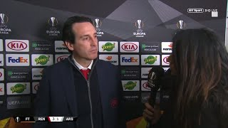 Unai Emery reflects on a disappointing night in France | Rennes vs Arsenal (3-1)
