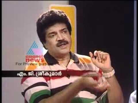 MG Sreekumar-On Record Part 3