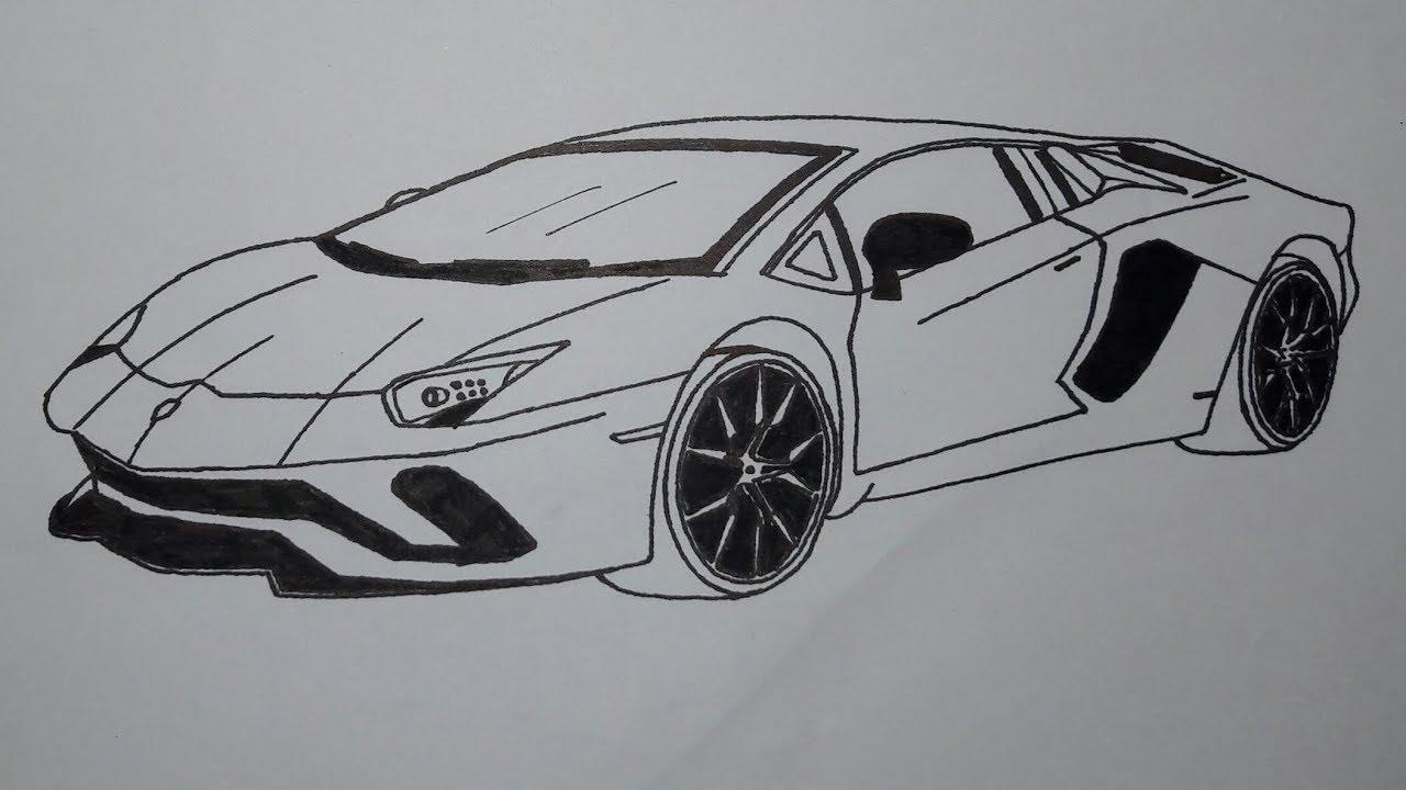 PICS CAN SPEAK: Lamborghini Completely Covered with Tattoos  |Lamborgini Cars Drawings Tattoo