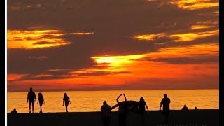 TOP 10 2019 Best Sunset in The world | Evening When The Sun Fisappears or Daylight Fades.