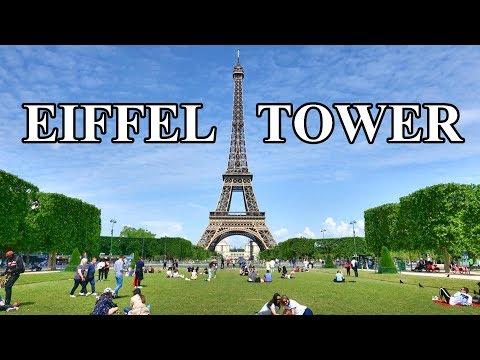 EIFFEL TOWER - EIFFEL TOUR , PARIS  4K