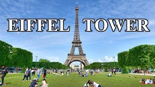 EIFFEL TOWER - EIFFEL TOUR , PARIS 2019 4K