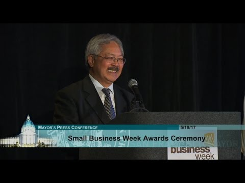 San Francisco Small Business Awards Ceremony 2017