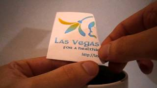 Las Vegas Dermatology Logo Magically Appearing From Coffee Cup Thumbnail