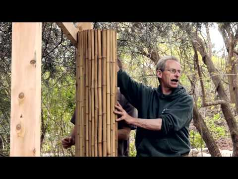 How To Install A Framed Bamboo Friendly Fence