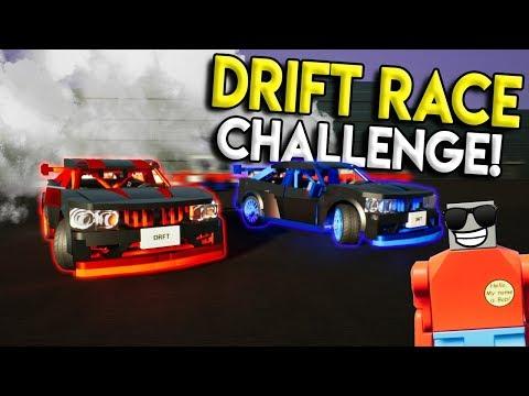 LEGO DRIFT & STREET RACE CHALLENGE! -  Brick Rigs Multiplayer Challenge Gameplay - Lego Street Race