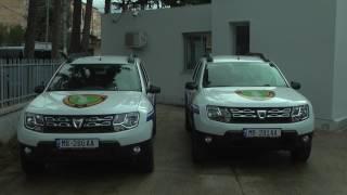 Ceremonia e dhurimit të 5 automjeteve nga Ambasada Gjermane.