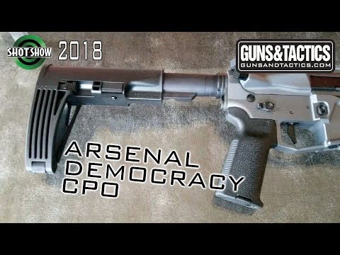 The Arsenal Democracy CPO - Shot Show 2018