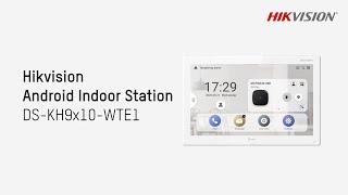 HIKVISION DS-KH9510-WTE1 vidéo