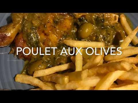 poulet-aux-olives-/-recette-marocaine-👍👍👍