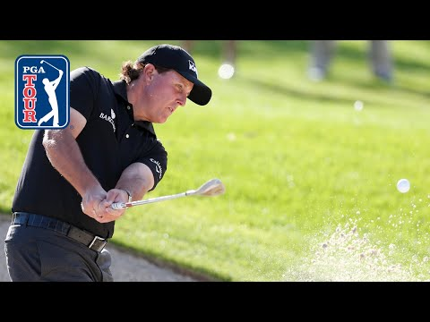 Phil Mickelson's best shots at The American Express