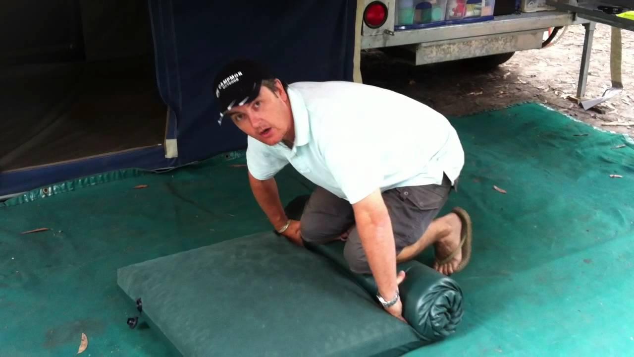 Kangaroo Tent City How To Roll A Diamantina Self Inflating Mattress