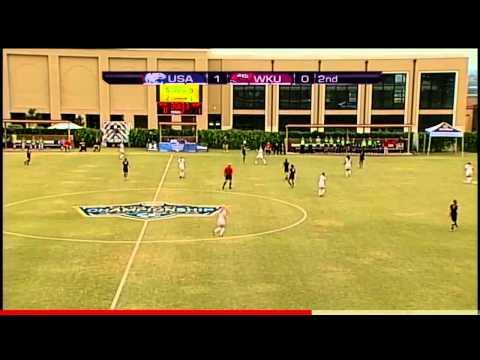 2013 Sun Belt Conference Soccer Championship - South Alabama vs. WKU