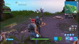Fortnite Fortbyte #82 Location (NW) North West of the blocks Do it in squad ou LTM Subcribe gifts..