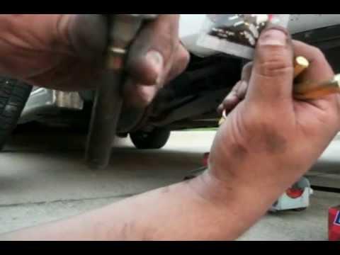 Mazda MPV Brake Change