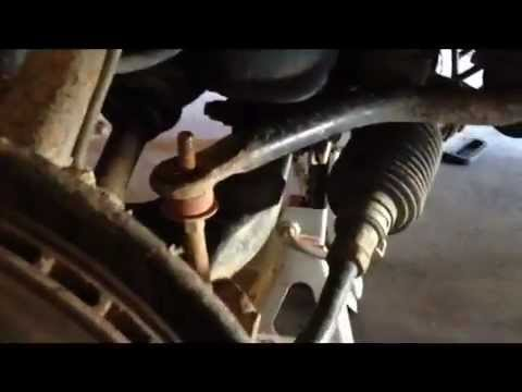 HOW TO replace sway bar bushings 19962002 Toyota 4Runner  YouTube