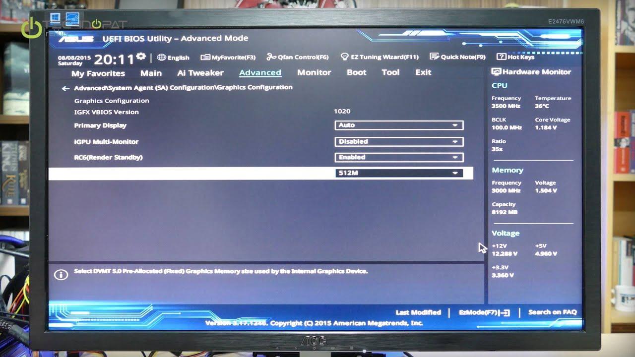 Intel HD Graphics RAM Yükseltme Rehberi