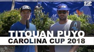 Interview de Titouan Puyo à la Quiksilver Waterman Carolina Cup 2018