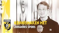 Kennismaking met Johannes Spors