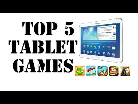 EP 4 - TOP 5 Android TABLET Games | HD