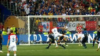 Франция - Хорватия 4:2 - Обзор голов финала ЧМ 2018