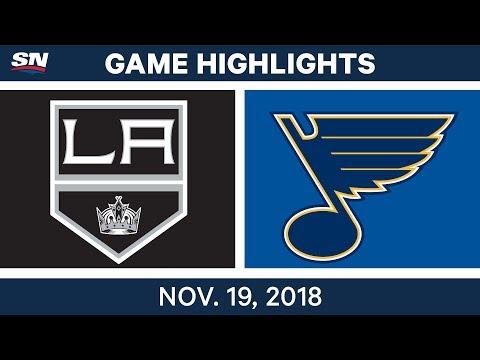 NHL Highlights | Kings vs. Blues – Nov. 19, 2018